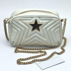 Stella McCartney Star Snake Embossed crossbody bag
